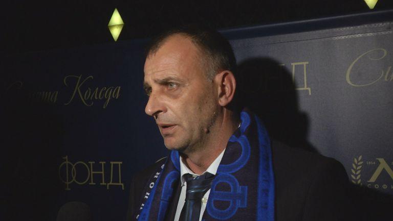 Здравков: Победата над ЦСКА донесе самочувствие на отбора