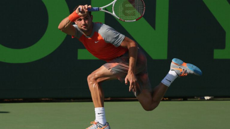 Григор започна с трудна победа турнира в Маями