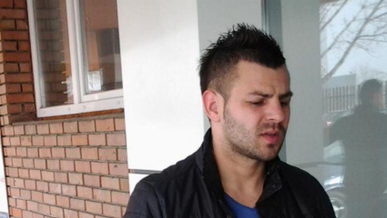 Спас Делев в групата на Локо Пд за мача с Черноморец