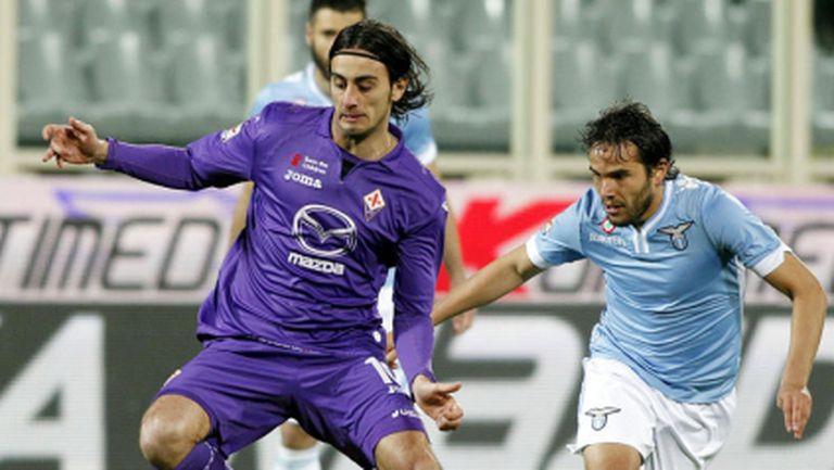 Супер гол донесе успеха на Лацио над Фиорентина (видео)
