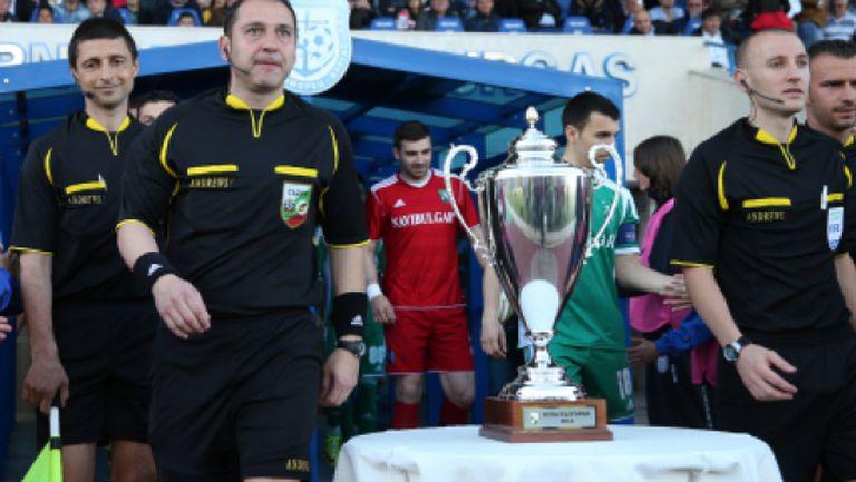 Владо Стоянов защити феновете на Ботев
