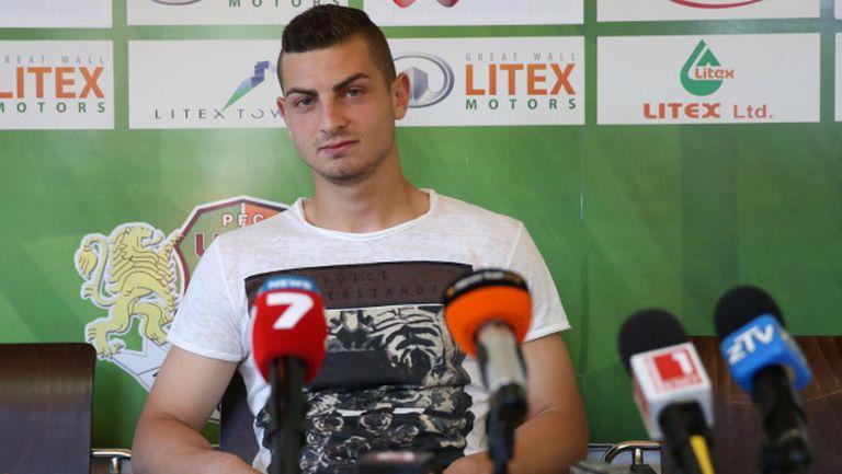 Милчо Ангелов: Литекс е трамплин за трансфер в чужбина