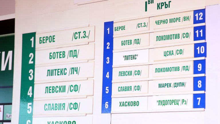 Литекс - ЦСКА и Левски - Локо (Пд) на старта, Вечно дерби във II кръг