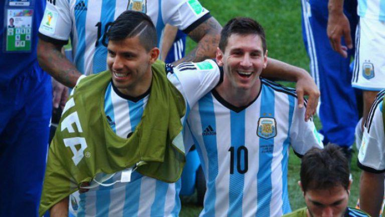 Меси и компания пеят за превъзходството на Аржентина над Бразилия