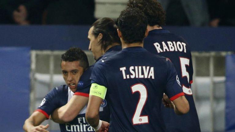 ПСЖ на четвъртфинал в Шампионската лига за втора поредна година (видео)