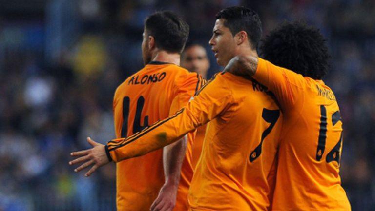 Минимална победа и безгрешен Реал Мадрид преди Ел Класико (видео)