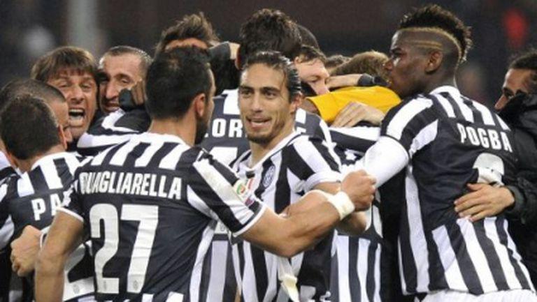 Слаб футбол, скандално съдийство и нова победа за Юве (видео)