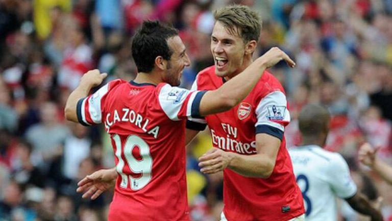 Арсенал обвърза две звезди и талант