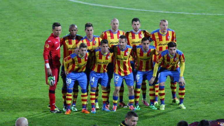 Валенсия ще разчита на трима футболисти от втория отбор срещу Лудогорец