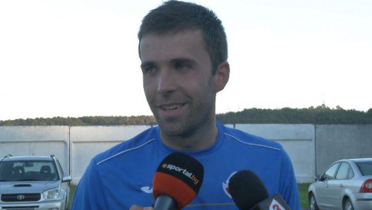Мирослав Антонов: Не очаквах такова развитие на мача