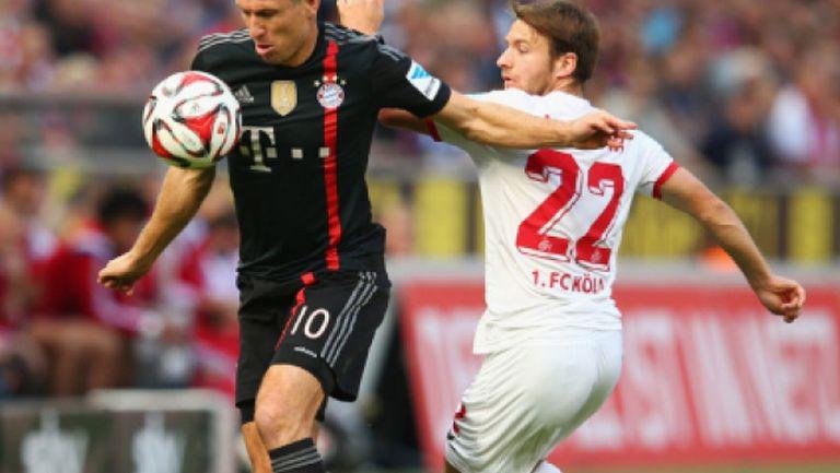 Кьолн - Байерн (Мюнхен) 0:2