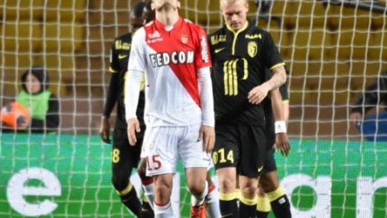 Бербатов отново блесна, но Монако се подхлъзна срещу Лил (видео)