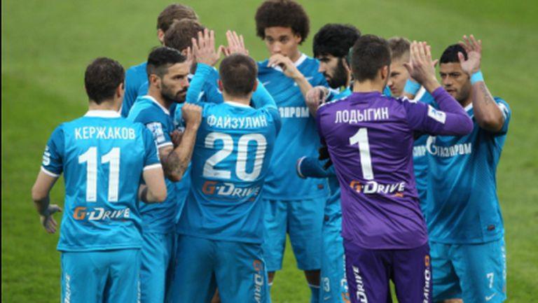 Вилаш-Боаш дебютира с победа в Русия, вратар носи трите точки на Зенит (видео)