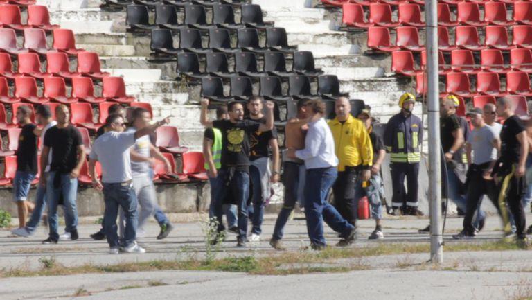 Вили Вуцов успокои феновете на Ботев
