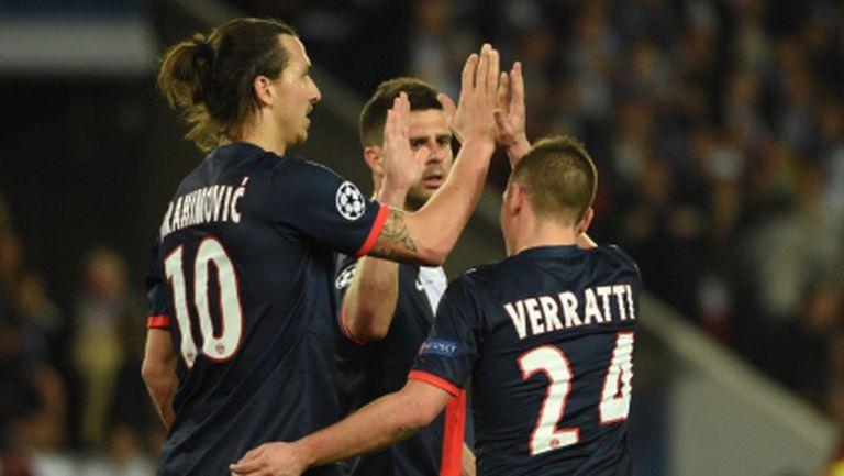 ПСЖ взе добър аванс срещу Челси след фантастичен гол в 93-ата минута (видео+галерия)