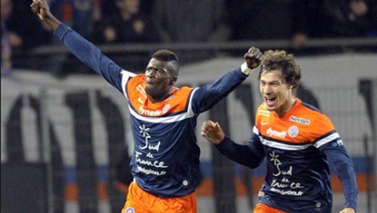 Важна победа за Монпелие
