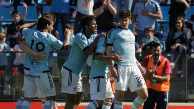 Реал Сосиедад изпусна победата във Виго