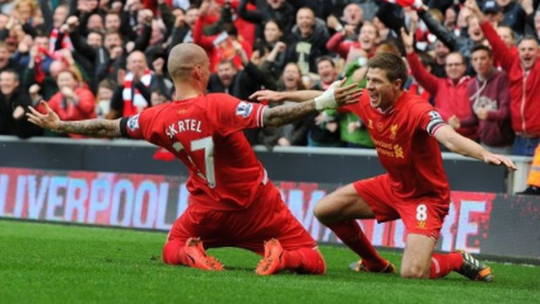 """Ливърпул пребори големия фаворит за титлата, мечтата на """"червените"""" става все по-реална (видео)"""