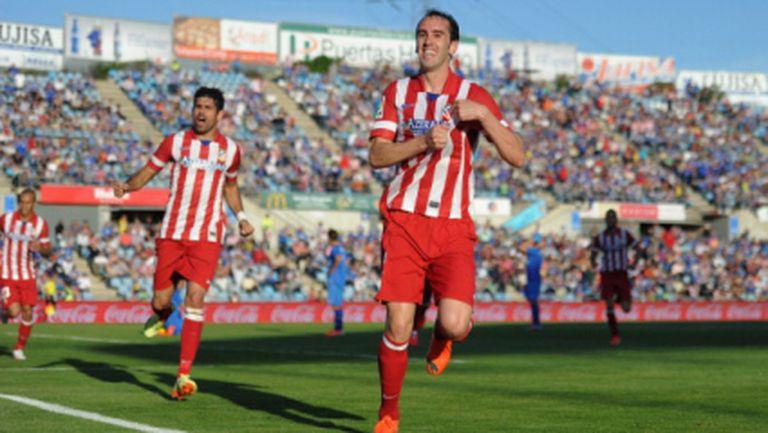 Атлетико (Мадрид) продължава да мечтае (видео)