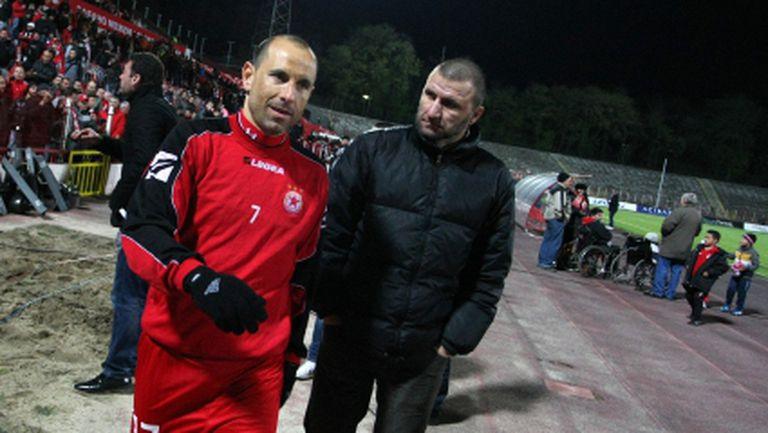 В ЦСКА назрява скандал между Стойчо и Мартин
