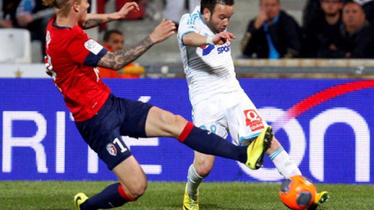 Марсилия спря победния ход на Лил