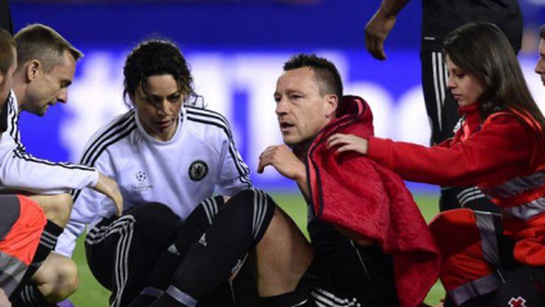 Челси вдига на крака Тери за реванша с Атлетико