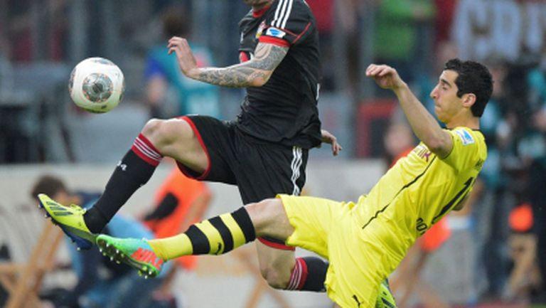 Леверкузен и Дортмунд се налудуваха за едно полувреме (видео)