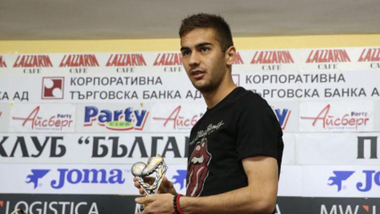 Французи искат младата звезда на ЦСКА