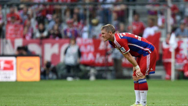 Швайнщайгер не е сигурен за финала срещу Дортмунд