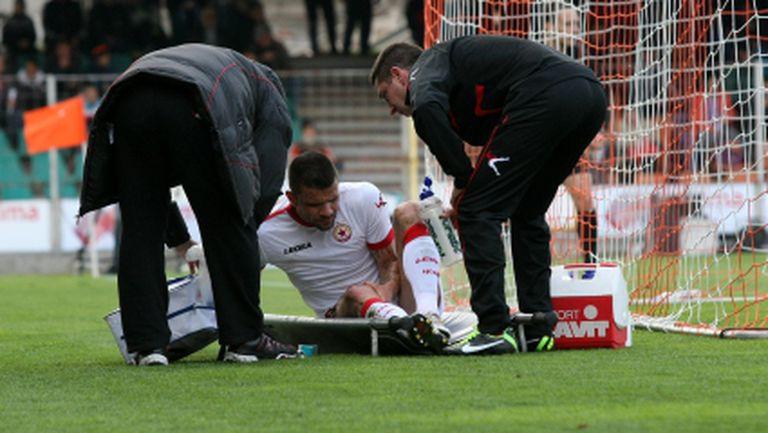 Оперират Вальо Илиев в сряда сутрин - аут за Лига Европа