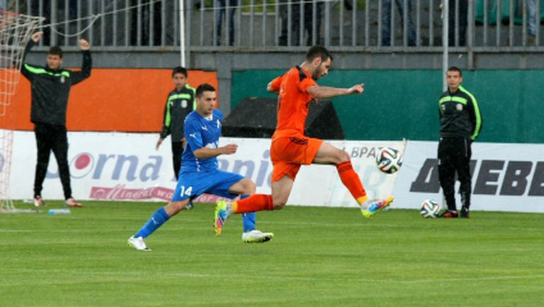 Славчев: Късметлийска победа - с една качествена атака ни вкараха