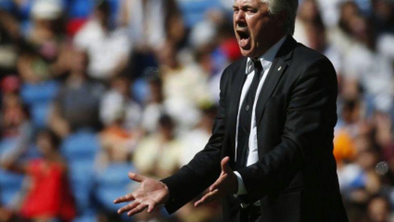 Анчелоти: Кристиано и Бензема са добре, ще играят в Лисабон