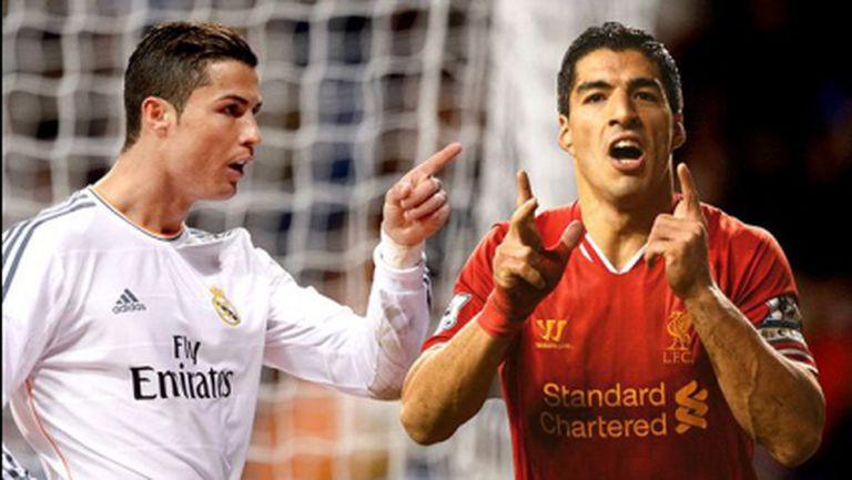 """Роналдо и Суарес си поделят """"Златната обувка"""""""
