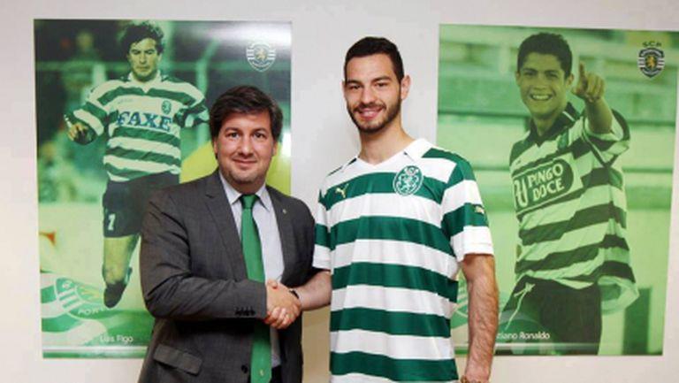 Спортинг представи Симеон Славчев, българинът вече струва 45 милиона евро