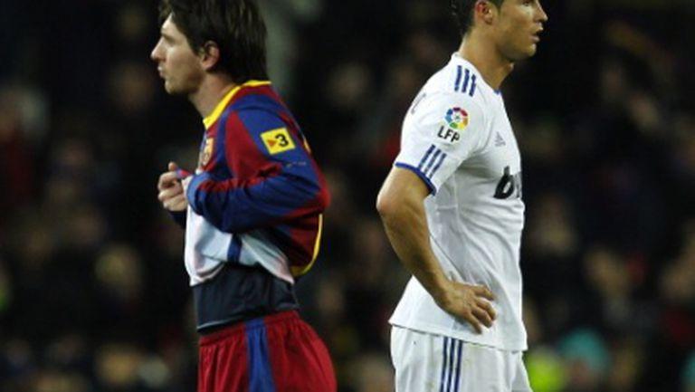 Суарес: Не знам кой е по-добър между Меси и Роналдо