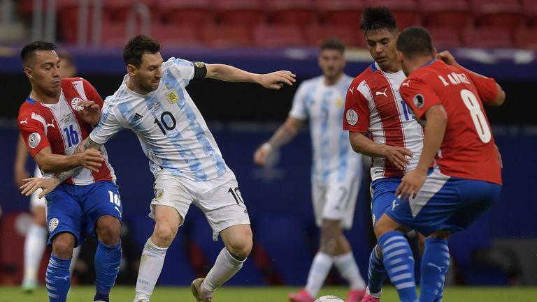 Аржентина с минимална победа над Парагвай