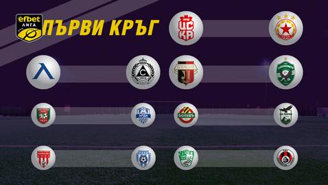 ЦСКА 1948 срещу ЦСКА - София в първия кръг на efbet Лига