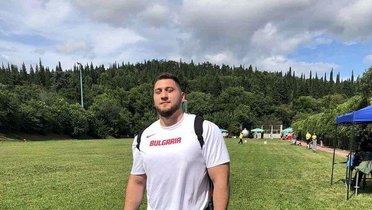Гемижев се контузил още преди старта на Европейското отборно в Стара Загора