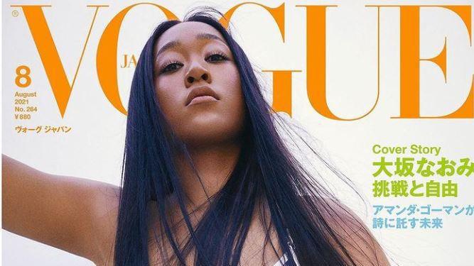 Наоми Осака по бански във VOGUE