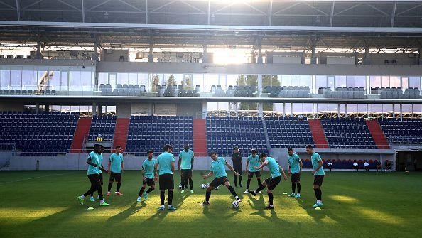 Португалия тренира под стрес