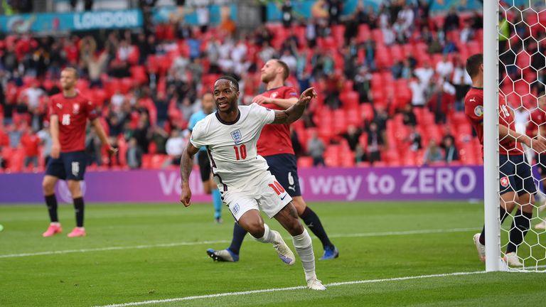 12' Чехия - Англия 0:1