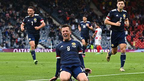МакГрегър изравни и пише история за Шотландия на ЕП