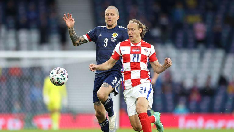 Хърватия 1:1 Шотландия, начало на второто полувреме (гледайте тук)