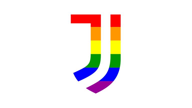 Ювентус последва Барселона и оцвети емблемата си в цветовете на дъгата