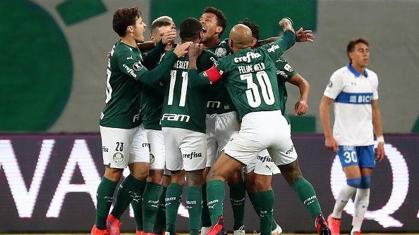 Палмейрас е на 1/4-финал за Копа Либертадорес след нов успех с 1:0 над Универсидад Католика