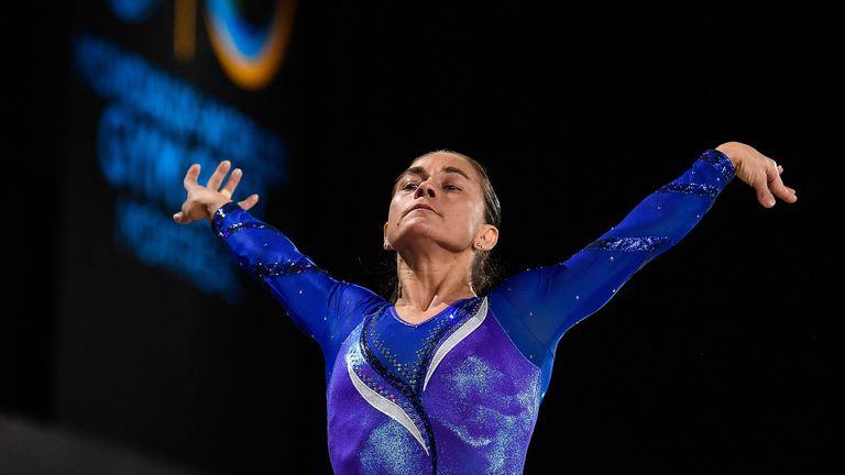 46-годишна гимнастичка се готви за осмата си олимпиада