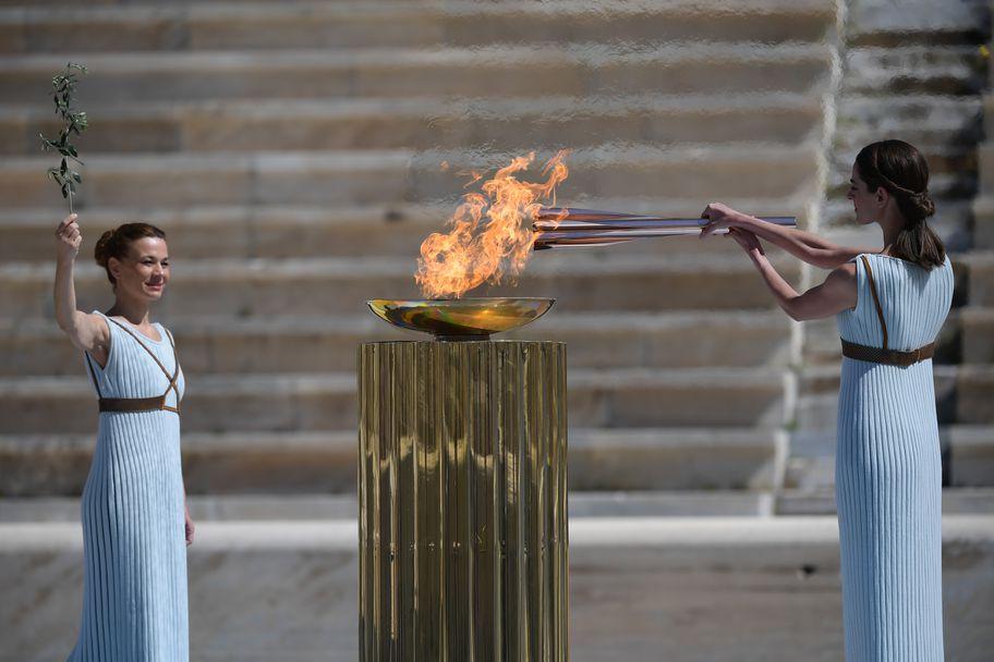 олимпийски огън