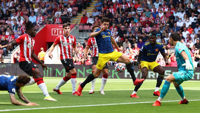 Саутхамптън - Манчестър Юнайтед 1:1 (22-08-21)