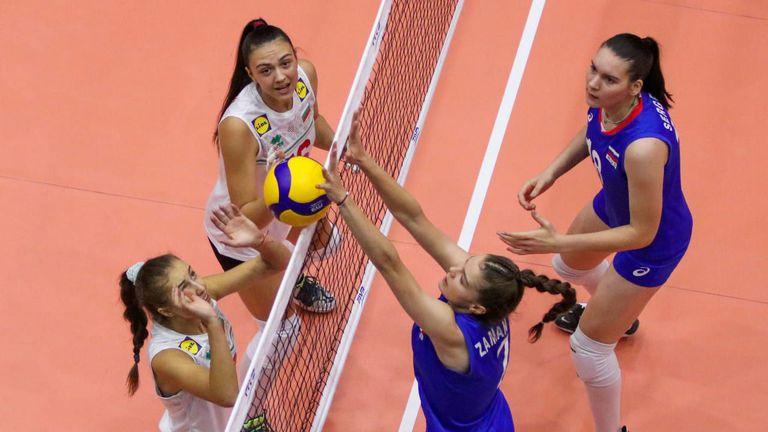 Русия нанесе тежко поражение на България на Световното за девойки