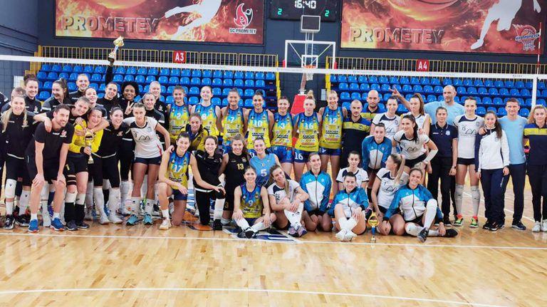 Шампионките победиха Меджидия в голяма драма и завършиха втори на турнира в Украйна